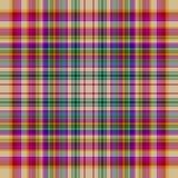 De naadloze achtergrond van het geruite Schotse wollen stof stock illustratie