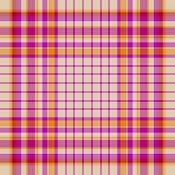 De naadloze achtergrond van het geruite Schotse wollen stof Stock Afbeeldingen