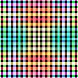 De naadloze achtergrond van het het netpatroon van kleurenblokken Stock Afbeeldingen