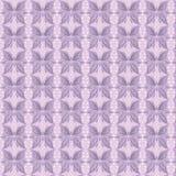 De naadloze achtergrond van het patroon met vlinders Stock Foto's
