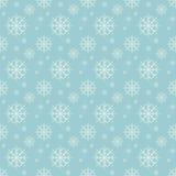 De naadloze achtergrond van sneeuwvlokken Royalty-vrije Stock Foto's