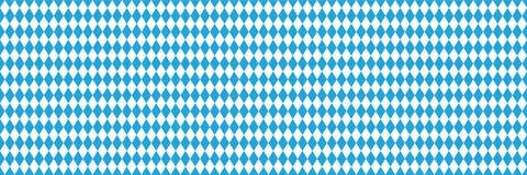 De naadloze blauwe achtergrond van Oktoberfest Stock Foto's