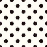 De naadloze cirkel stippelt patroon vector illustratie