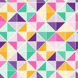 De naadloze creatieve modieuze krabbel stippelt speels patroon royalty-vrije illustratie