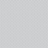 De naadloze eenvoudige achtergrond van patroon abstracte schalen met witte grijs van het cirkelpatroon Kan voor stoffen, behang,  stock illustratie
