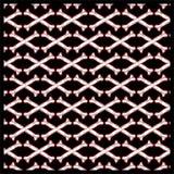 De naadloze gekruiste knekels van de patroonschedel royalty-vrije illustratie
