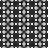 De naadloze geproduceerde textuur van het gordijnkant Stock Afbeeldingen