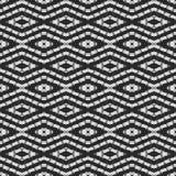De naadloze geproduceerde textuur van het gordijnkant Stock Fotografie