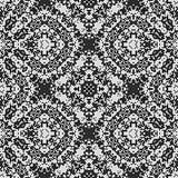 De naadloze geproduceerde textuur van het gordijnkant Royalty-vrije Stock Afbeeldingen