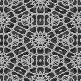 De naadloze geproduceerde textuur van het gordijnkant Stock Foto