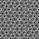 De naadloze geproduceerde textuur van het gordijnkant Royalty-vrije Stock Afbeelding