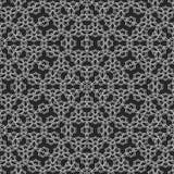 De naadloze geproduceerde textuur van het gordijnkant Royalty-vrije Stock Fotografie
