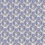 De naadloze glanzende gemmen verzilveren het grijze en blauwe bedekken Stock Fotografie