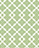 De naadloze groene vector van het visgraatpatroon Royalty-vrije Stock Afbeeldingen