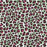 De naadloze hand getrokken klomp van de jaguarhuid Vectorillustratie dierlijke exotische stammen voor van de manier het textieldr vector illustratie