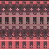De naadloze heldere abstracte geometrische achtergrond van de patroontextuur Royalty-vrije Stock Fotografie