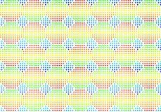 De naadloze multi-coloured achtergrond van het volume Stock Foto