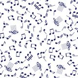 De naadloze muziek neemt nota van patroon royalty-vrije illustratie