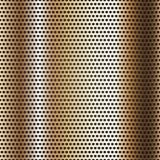 De naadloze oppervlakte van het chroommetaal, achtergrond Stock Foto