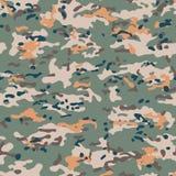 De naadloze patronen van de Multicamcamouflage vector illustratie