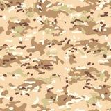 De naadloze patronen van de Multicamcamouflage royalty-vrije illustratie