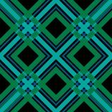 De naadloze retro achtergrond van het de plaidpatroon van de geruit Schots wollen stof geruite textuur stock illustratie