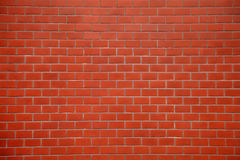 De naadloze Rode Achtergrond van de Bakstenen muurtextuur Royalty-vrije Stock Foto