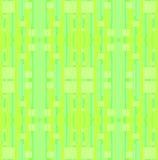 De naadloze strepen en vierkanten groene kalk van de patrooncitroen en munt Royalty-vrije Stock Foto