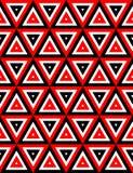De naadloze textuur van de driehoek Royalty-vrije Stock Afbeelding