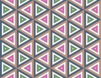 De naadloze textuur van de driehoek Royalty-vrije Stock Afbeeldingen
