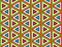 De naadloze textuur van de driehoek Stock Afbeeldingen