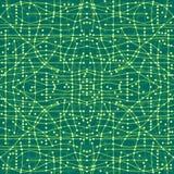 De naadloze textuur van de raad van de computerkring of elektronisch omgeeft Royalty-vrije Stock Fotografie