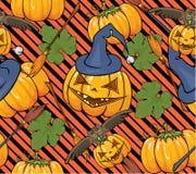 De naadloze textuur van Halloween. Royalty-vrije Stock Fotografie