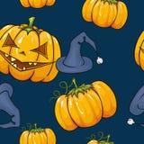 De naadloze textuur van Halloween. Royalty-vrije Stock Foto's