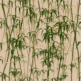 De naadloze textuur van het bamboe. Stock Afbeeldingen