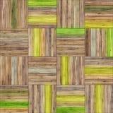 De naadloze textuur van het mandparket Stock Afbeeldingen