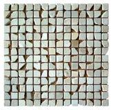 De naadloze textuur van het mozaïek Stock Afbeeldingen