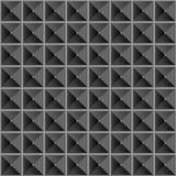 De naadloze textuur van piramides Royalty-vrije Stock Afbeelding