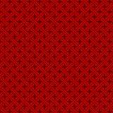 De naadloze uitstekende Chinese achtergrond van het de controlepatroon van de venstermeetkunde Vector Illustratie