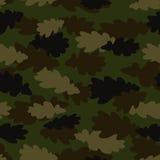 De naadloze vector van de camouflage Royalty-vrije Stock Foto's