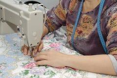De naaimachine Royalty-vrije Stock Afbeeldingen