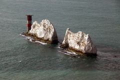 De naalden, het Eiland Wight Royalty-vrije Stock Afbeeldingen