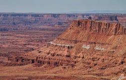 De naalden overzien in Utah stock fotografie