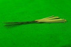 De naalden van de acupunctuur Royalty-vrije Stock Afbeeldingen