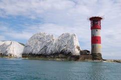 De Naalden van het Eiland Wight royalty-vrije stock afbeeldingen