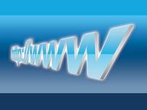 De naam van het domein Stock Afbeeldingen
