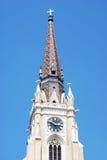 De naam van St Mary Church Royalty-vrije Stock Foto