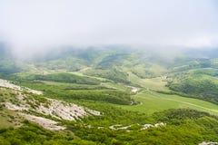 De nabijheid van het Mangush-Plateau stock foto