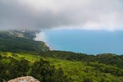 De nabijheid van het Mangush-Plateau stock fotografie