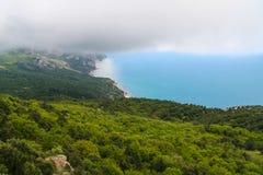 De nabijheid van het Mangush-Plateau stock foto's